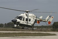A BK117 utility Helicopter of the Spanish Civil Guard by Timm Ziegenthaler - various sizes