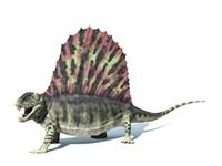 3D Rendering of a Dimetrodon Dinosaur by Leonello Calvetti - various sizes