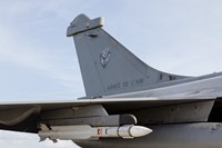 A MICA Missile Under the Wing of a French Air Force Rafale Aircraft by Timm Ziegenthaler - various sizes, FulcrumGallery.com brand