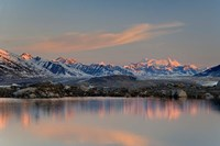 British Columbia, Alsek River Valley, Lake, Glacier by Jaynes Gallery - various sizes