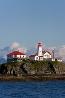 Canada, British Columbia Green Island Lighthouse Fine Art Print