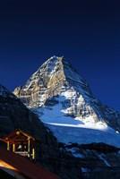 Canada, British Columbia Mount Assiniboine peak Fine Art Print