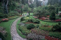 The Butchart Gardens, Vancouver Island, British Columbia, Canada Fine Art Print