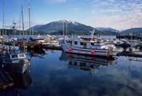Fishing Boats, Prince Rupert, British Columbia, Canada Fine Art Print