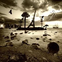 Eiffel Nightmare by Philippe Sainte-Laudy - various sizes