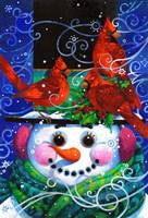 The Snowy Night Fine Art Print