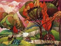 The Big Backyard Fine Art Print