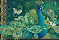 Paisley Peacock Fine Art Print