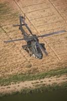 An AH-64D Apache Fine Art Print