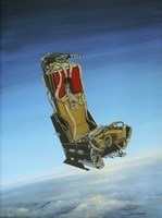 Acrylic Painting of the Martin Baker Ejection Seat Fine Art Print