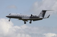 A Gulfstream C-20H Executive Transport Plane of the US Air Force by Timm Ziegenthaler - various sizes, FulcrumGallery.com brand