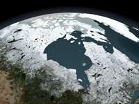 Hudson Bay Sea Ice on November 14, 2005, 2005 - various sizes