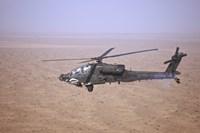 An AH-64D Apache Longbow Fine Art Print