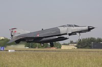 A Turkish F-4E Phantom takes off from Lechfeld Airfield, Germany by Timm Ziegenthaler - various sizes