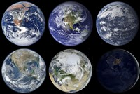 Image comparison of Iconic Views of Planet Earth - various sizes