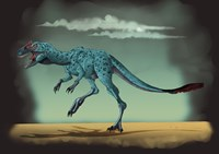 Dilong Garadoxus, a Genus of Small Tyrannosauroid Dinosaur - various sizes, FulcrumGallery.com brand