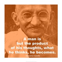 Gandhi Thoughts Quote