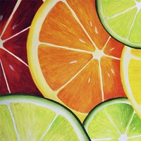 Sliced Orange Fine Art Print