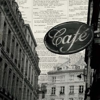 Cafe by Marc Olivier - various sizes