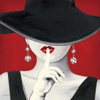 Haute Chapeau Rouge I Fine Art Print