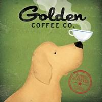 Golden Dog Coffee Co. Fine Art Print