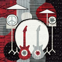 Rock 'n Roll Drums Fine Art Print
