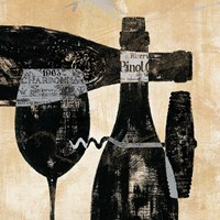 Wine Selection I by Daphne Brissonnet - various sizes