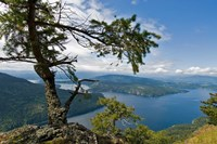 Strait of Georgia, Salt Spring Isl, British Columbia Fine Art Print