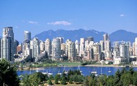 Vancouver Waterfront, British Columbia, Canada by Michael DeFreitas - various sizes - $32.49