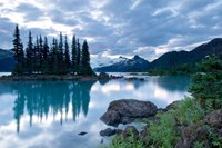 Battleship Islands, Garibaldi Lake, British Columbia Fine Art Print