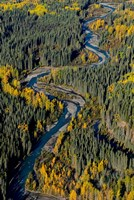 Todagin Creek, River, South Slope, British Columbia Fine Art Print