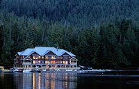King Pacifci Lodge, British Columbia, Canda Fine Art Print