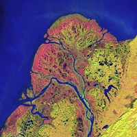 The Yukon Delta in Southwest Alaska Fine Art Print