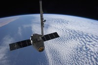 The SpaceX Dragon Cargo Craft Prior to being Released from the Canadarm2 - various sizes