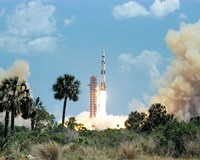 The Apollo 16 Space Vehicle is Launched from Kennedy Space Center - various sizes
