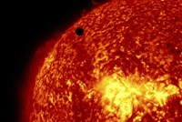 2012 Transit of Venus and the Sun Fine Art Print