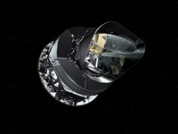 An Artist's Concept of the Planck Spacecraft - various sizes