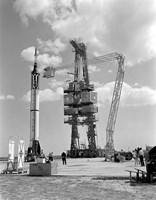 Mercury-Redstone 3 Prelaunch Activities on the Mercury 5 Launch Pad - various sizes