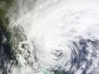 Hurricane Sandy Over the Bahamas - various sizes