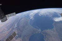 View from Space of Morocco and Spain - various sizes