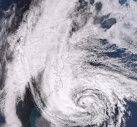 Hurricane Sandy along the Northeastern Coast of the United States - various sizes