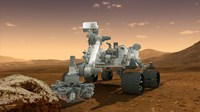 Artist's Concept of NASA's Mars Science Laboratory Curiosity rover - various sizes - $47.49