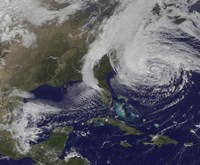 Hurricane Sandy and the East Coast - various sizes