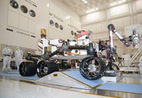 Curiosity Rover in the Testing Facility - various sizes