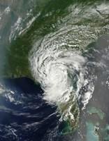 Tropical Storm Beryl Soaking parts of Northern Florida and Southern Georgia - various sizes