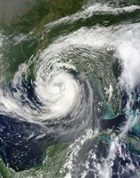 Tropical Storm Isaac Moving through the Gulf of Mexico - various sizes