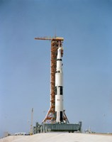 Apollo 10 Space Vehicle on the Launch Pad at Kennedy Space Center - various sizes