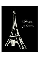 Eiffel Tower (Popular French Cities) Fine Art Print