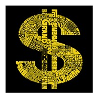 Dollar Sign (Slang terms for Money) Fine Art Print