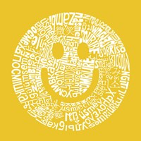 Smile (Different Languages) Fine Art Print